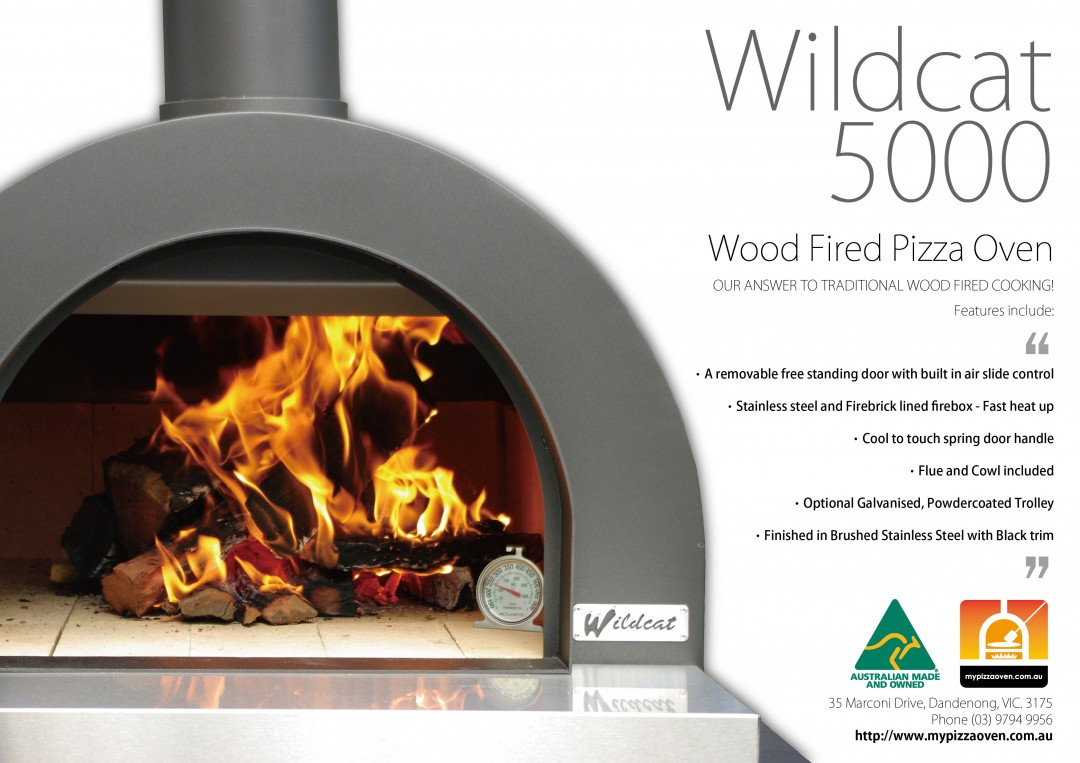 Wildcat 5000 Wood Fired Oven