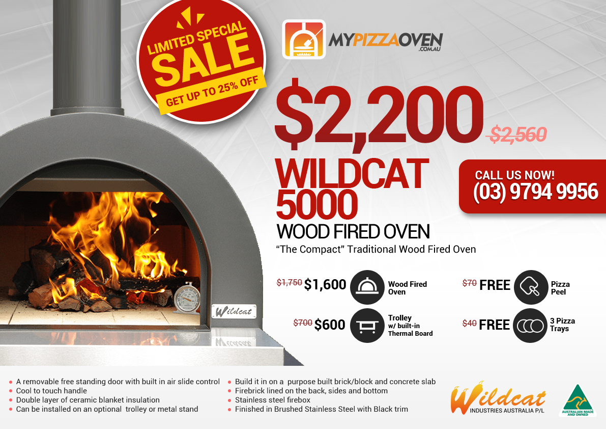 Wildcat Wood Fired Pizza Oven